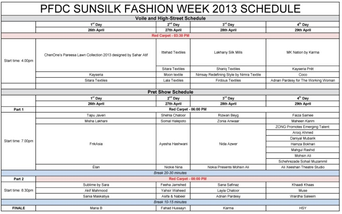 PFDC Sunsilk Fashion Week - Schedule [F] - Copy (2)