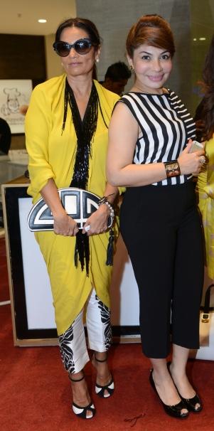 Frieha Altaf and Saba