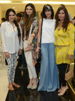 Sania Maskatiya, Shehla Chatoor, Sadaf Malaterre and Musharaf Hai