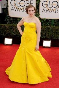 Lena-Dunham-Golden-Globes-2014