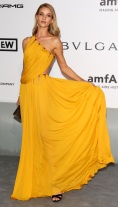 rosie-huntington-whiteley-cannes-film-festival-2014-amfar-gala-yellow-gold-dress-emilio-pucci-grecian-goddess