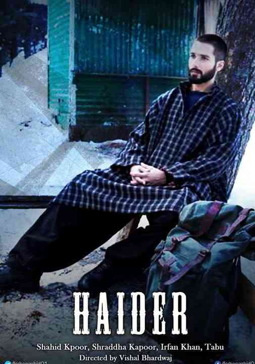 Fashion Designer Movie Haider Movie Poster