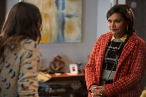 "THE MINDY PROJECT -- ""Mindy & Nanny"" Episode 406 -- Pictured: (l-r) -- (Photo by: John Fleenor/NBC)"