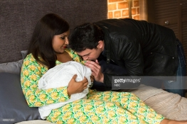 "THE MINDY PROJECT -- ""Leo Castellano Is My Son"" Episode 403 -- Pictured: (l-r) Mindy Kaling Mindy, Chris Messina as Danny -- (Photo by: Jessica Brooks/NBC/NBCU Photo Bank)"