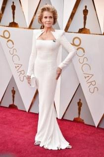 I want to look like Jane Fonda in Balmain when I am 80
